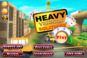 Heavy Vehicle and Heavy Construction Equipment Solitaire