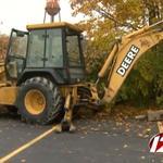 How do you adjust brakes on a bulldozer?